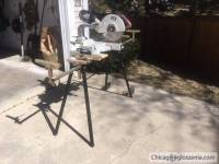 "12""pila ze stolem 12"" miter saw with stand"