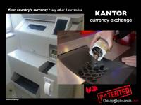 Currency exchange (automatic) Kantor samoobsługowy