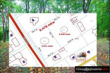 We present for sale a well-kept building plot with an area of ​​6,470 sq m, located in Konstancin - Jeziorna, Poland.